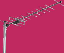 ТВ DVB-T2 антенна Эфир